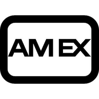 Americano logotipo express