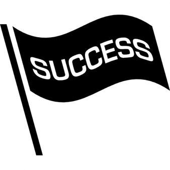 Bandeira do sucesso
