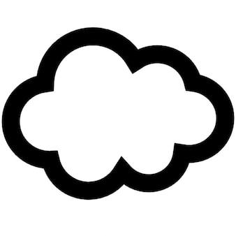 Bonito nuvem