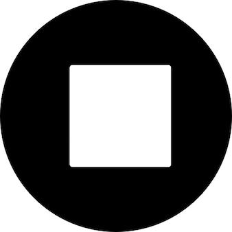 Botão de parada de multimídia