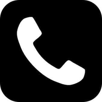 Botão símbolo telefone