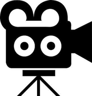 Câmera de cinema do vintage