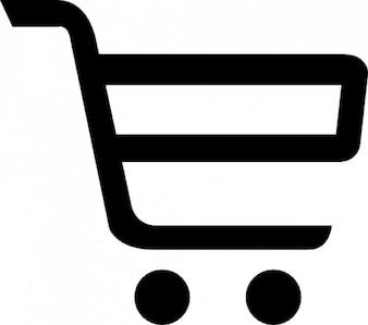 Carrinho de compras. comércio on-line