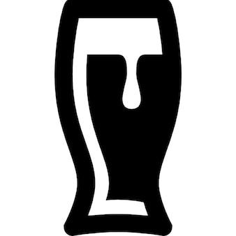 Cerveja em um copo
