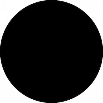 Círculo preto