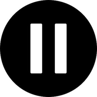 Duas barras em um círculo