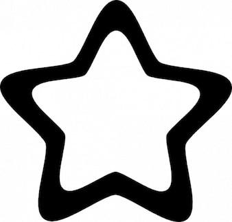 Estrela arredondada