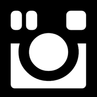 Instagram câmera fotográfica símbolo