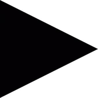 Jogar seta triangular para botão de interface