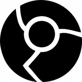 Logotipo cromado