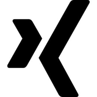 Logotipo xing