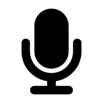 Microfone preto