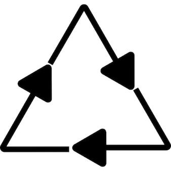 Reciclagem, ios 7 símbolo