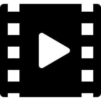 Rolo de cinema com o símbolo do jogo