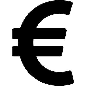 Símbolo da moeda euro