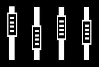 Sintetizador. elemento musical