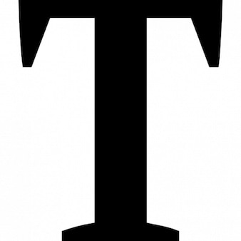 T letra maiúscula