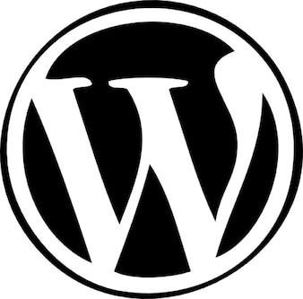 Resultado de imagem para símbolo de wordpress