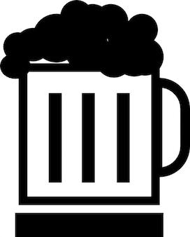 Bière dans une tasse