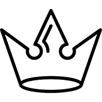 Couronne de conception royale