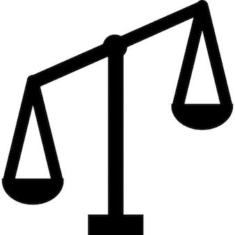 échelle déséquilibrée