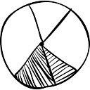 pourcentages graphique d 39 affaires circulaire t l charger icons gratuitement. Black Bedroom Furniture Sets. Home Design Ideas