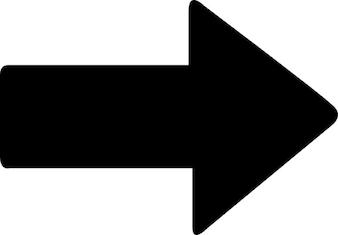 Flèche droite