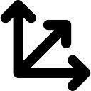 haut fl che droite dans bouton circulaire t l charger icons gratuitement. Black Bedroom Furniture Sets. Home Design Ideas