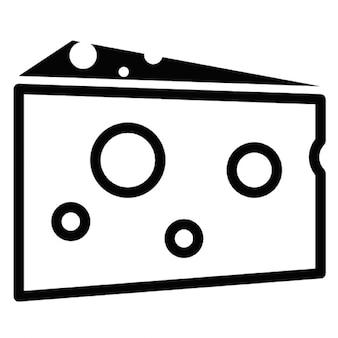 Portion de fromage,