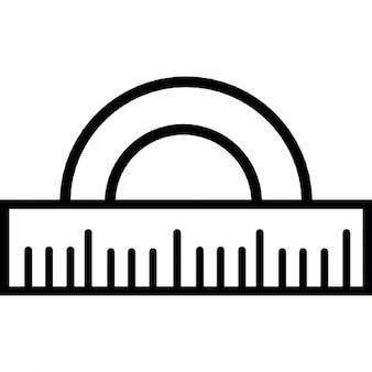 Protecteur de l'échelle, symbole ios 7 de l'interface