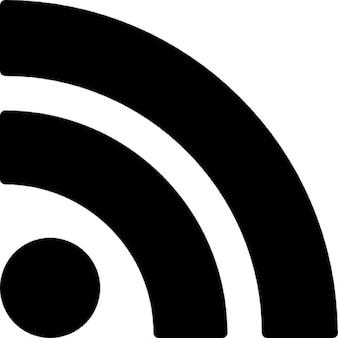 Rss feed symbole