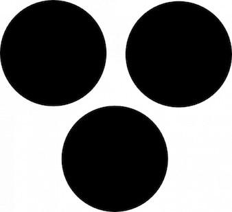 Trois points noirs