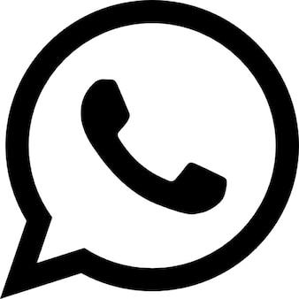 WhatsApp logo variante