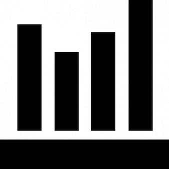 Barras de gráfico de un gráfico