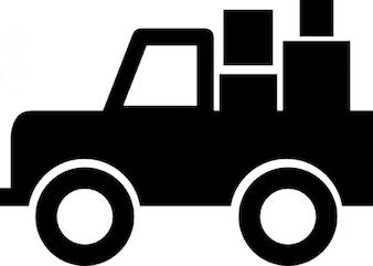 Camión de transporte