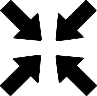 Flechas nombra al centro