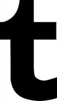 Logo social, tumblr