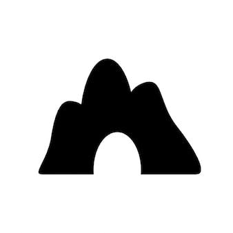 Montaña cueva