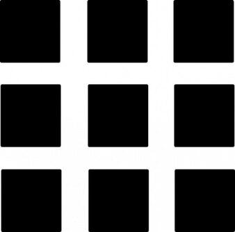 Organización. cuadrados