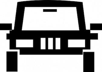 El vehículo del terreno