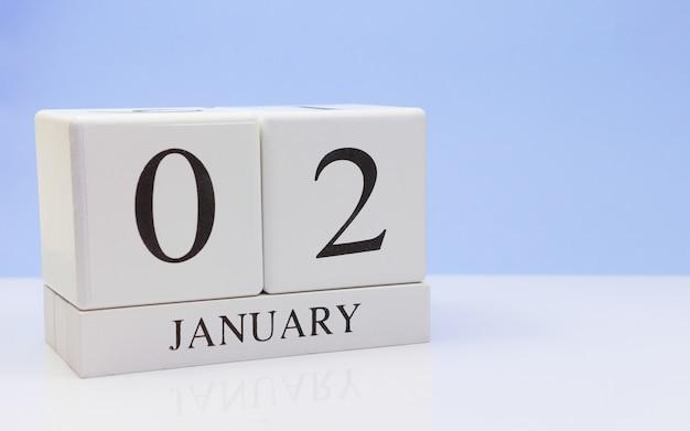 02 janvier. jour 02 du mois