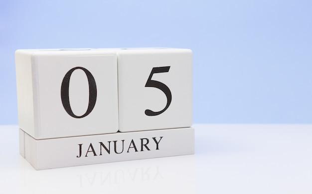 05 janvier. jour 05 du mois
