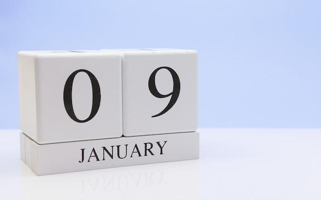 Le 09 janvier. jour 09 du mois