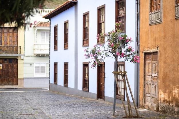 1 août 2019. centre de la vieille ville de la laguna à tenerife, îles canaries, espagne