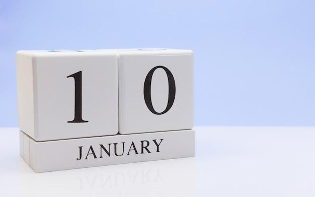 10 janvier. jour 10 du mois