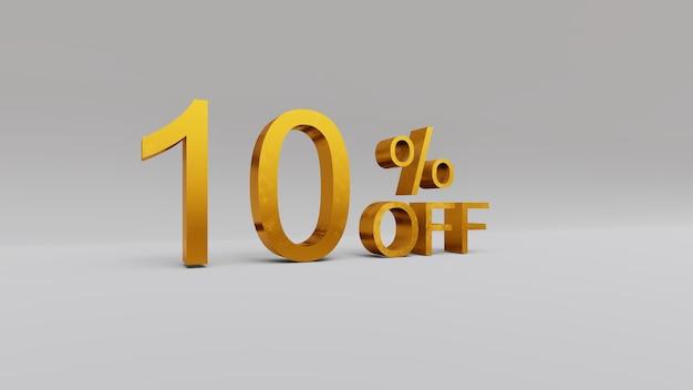 10 pour cent de réduction sur le rendu 3d
