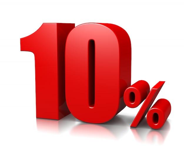 10 pourcent