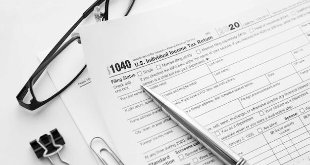 1040 déclaration de revenus des particuliers aux états-unis