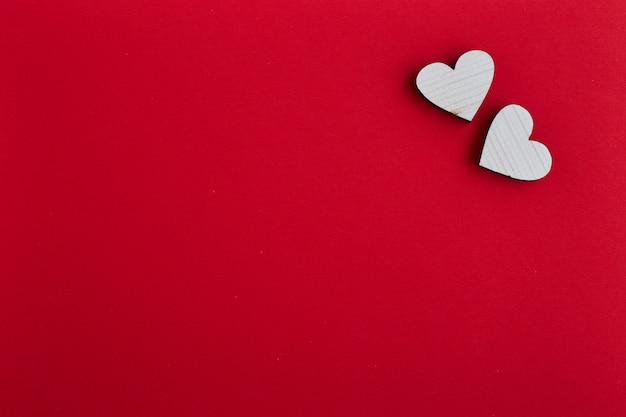14 février valentine concept de coeurs