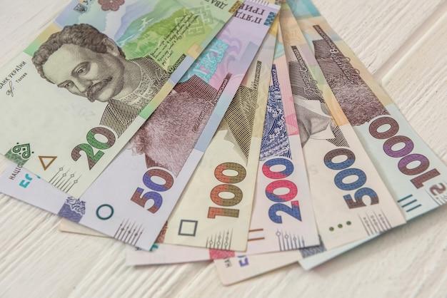 20 50 100 200 500 1000 nouveau billet. argent ukrainien. euh